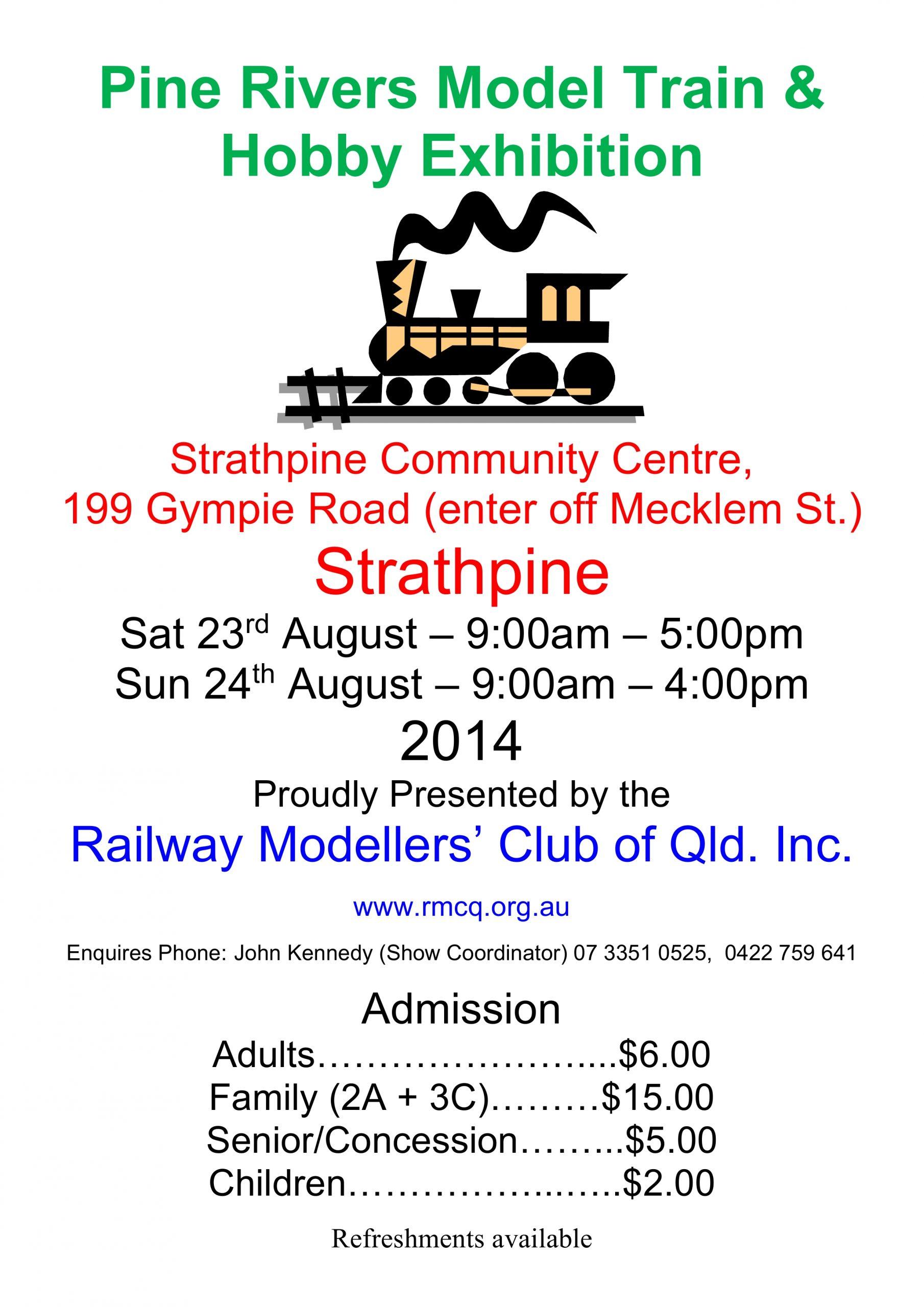 Aurora Trains Model railway Exhibition