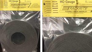 Trackrite HO H505B 5m Underlay Edged