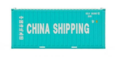 30051wl container china shipping HO Scale 20' Container w/Corrugated Doors