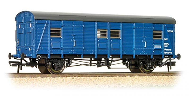 Branchline 39-528, Ex-Southern CCT Covered Carriage Truck BR Blue