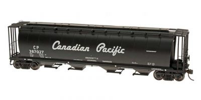 HO Cylindrical Covered Hopper - Canadian Pacific - Script