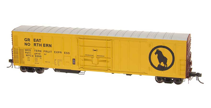 HO R-70-20 Refrigerator Car - WCFX - GN Large Goat