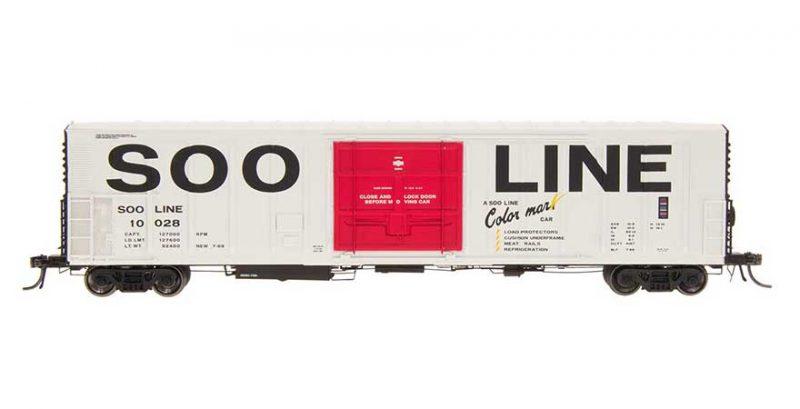 HO R-70-20 Refrigerator Car - SOO Line