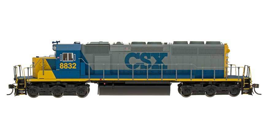 HO SD40-2 Locomotive - CSX - YN2 Scheme