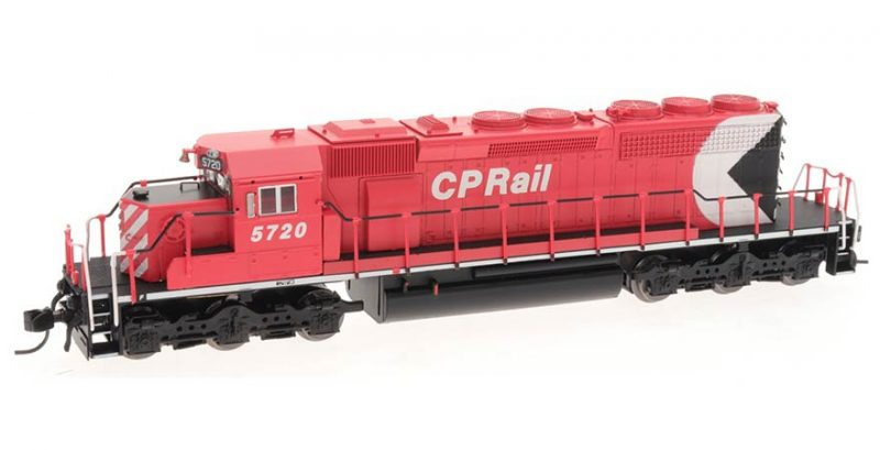 Intermountain N Scale SD40-2 Locomotive – Canadian Pacific – DC - 69346awl