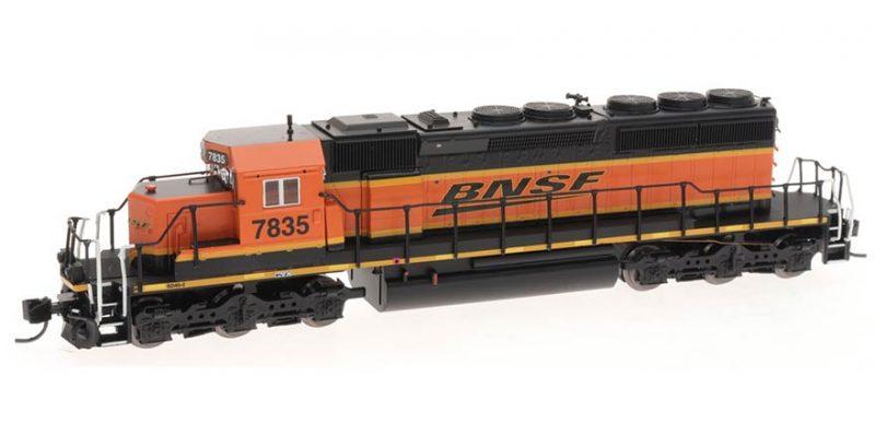 69350 Intermountain N Scale-SD40-2 Locomotive w/Sound BNSF