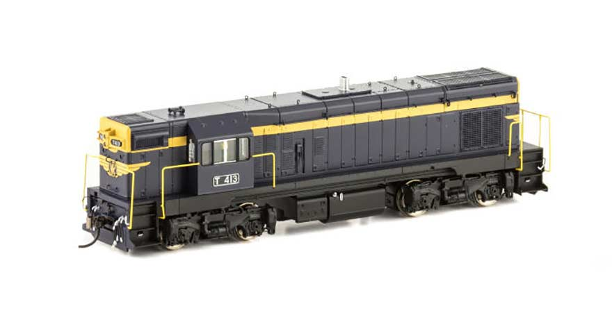Auscision VIC T Class Locomotive (Series 1 with cut away valance) T-5T413 VR