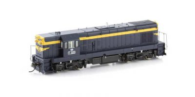 "VIC T Class Locomotive (Series 1) T326VR Blue & Gold with 9"" Gold Stripe, 1970-1980 Era"