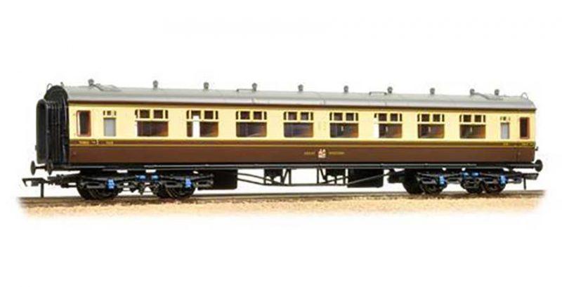 Branchline 34-128, 60ft Collett Coach First & Third Composite GWR Chocolate & Cream