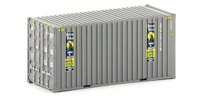 Auscision 20' Container, Royal Wolf, HO Scale, CON-12