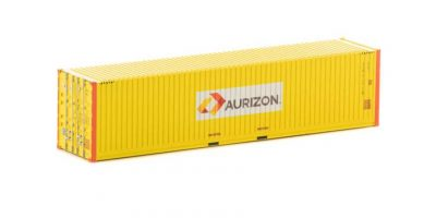 Auscision 40' Container, Aurizon Yellow with Orange Posts, HO Scale, CON-127