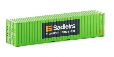 CON 14 Auscision 40ft Container Sadleirs Green HO Scale