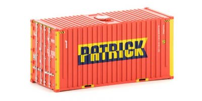 Auscision 20' Container, Patrick with hatch, HO Scale, CON-2