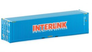 CON 20 - Interlink Distribution services 40ft container - HO Scale
