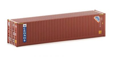 CON 28 Auscision 40' Container-Cronos Brown HO Scale