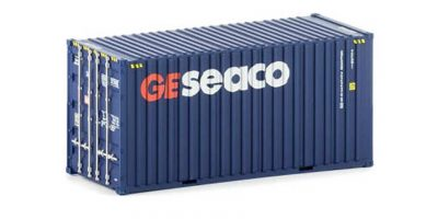 Twin Pack of Auscision 20 foot Hi-Cube GESEACO Containers, HO Scale.