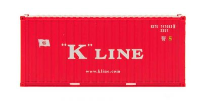 HO A-Line 20' Container w/Corrugated Doors - K-Line