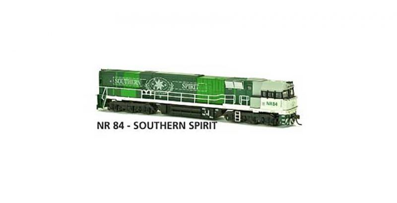 Austrains NR 84 - SOUTHERN SPIRIT AUSTRAINS NEO NR Class Locomotive Non-Powered HO Scale