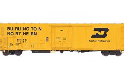 Red Caboose 57' Mechanical Refrigerator Car BNFE, HO Scale