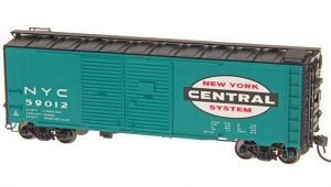 Red Caboose Double Door Boxcar 1937 New York Central HO Scale Product References RR-35826-15 RR-35826-17 RR-35826-18