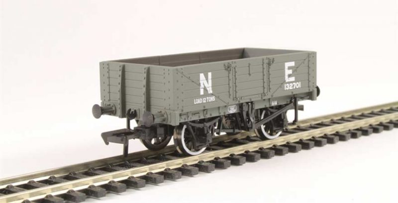 Branchline 37-069, 5 Plank Wagon Wooden Floor NE Grey OO Scale Product Ref 37-069