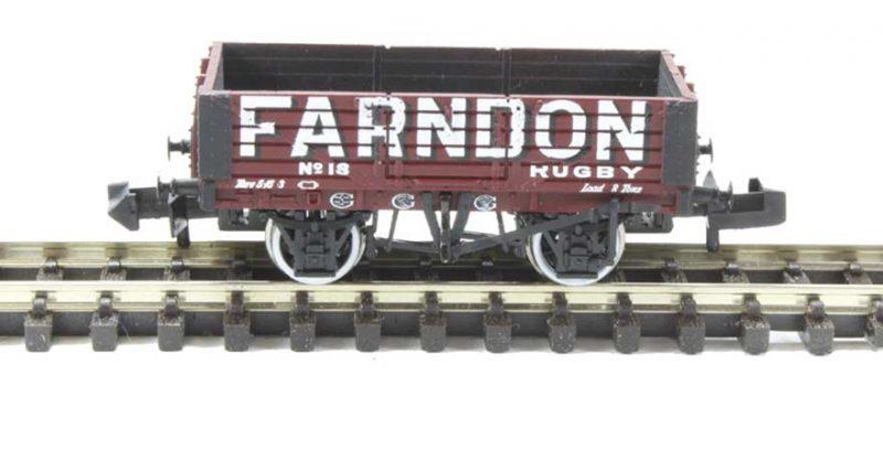 Graham Farish, 377-058, 5 Plank Wagon Wooden Floor Farndon N Scale Product Ref 377-058