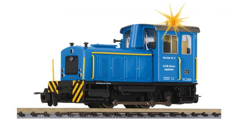 Liliput, L142128, Industrial Works Locomotive No.5 (Working Lights) Ep.IV HO Scale Product Ref L142128