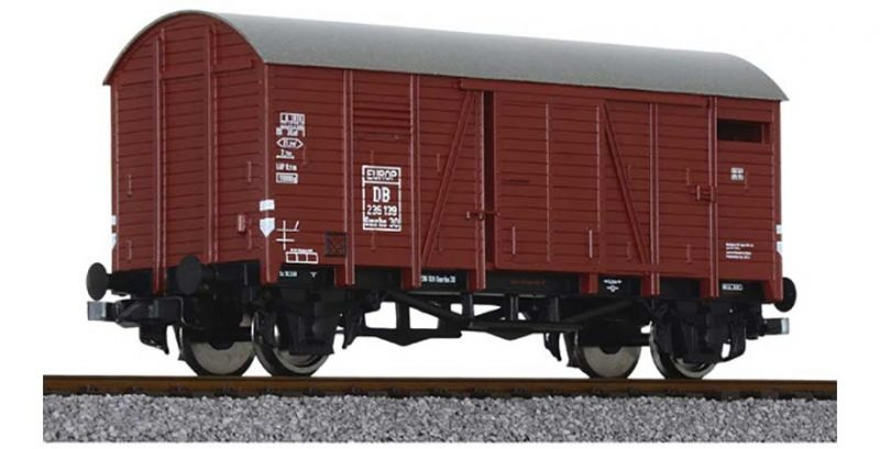 Liliput, L235073, Covered Goods Wagon DB Ep.III HO Scale Product Ref L235073