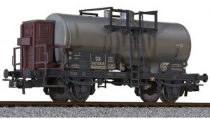 Liliput, L235353, 2 axled Tank Wagon DB epoch III − weathered HO Scale Product Ref L235353