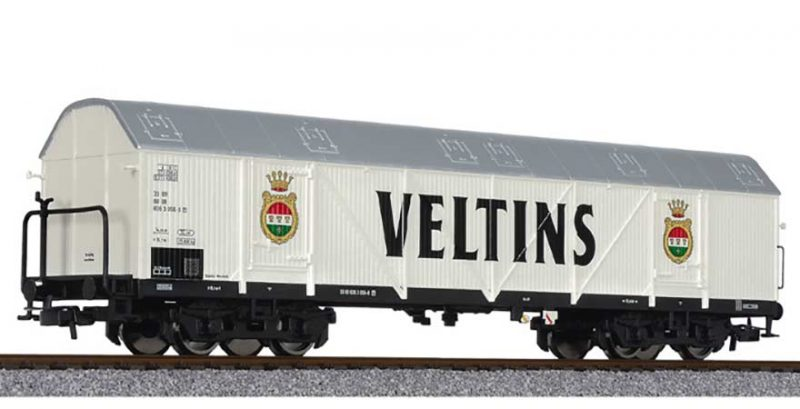 Liliput, L235655, Four Axle Refrigerated Wagon 'VELTINS' DB Ep.IV, HO Scale HO Scale Product Ref L235655