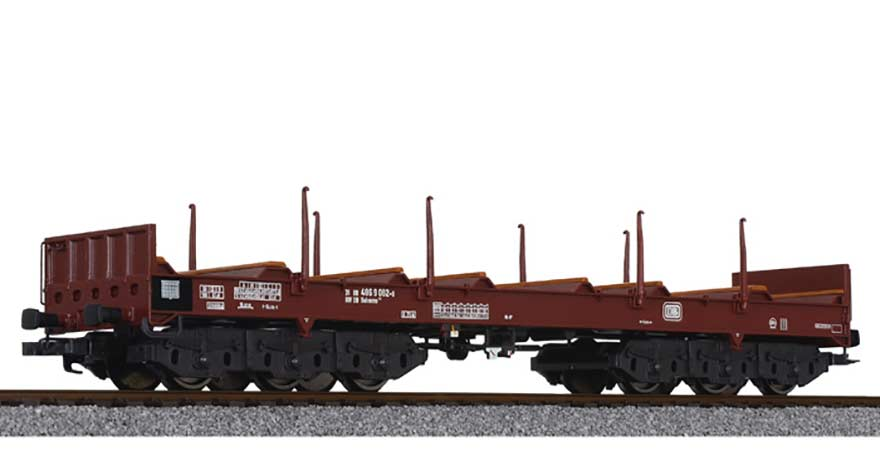 Liliput, L235763, Steel Transport Wagon with Stanchions DB Ep.IV/V HO Scale Product Ref L235763