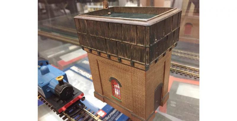 Scenecraft, Brick Base Water Tower OO Scale Product Ref 44-0003