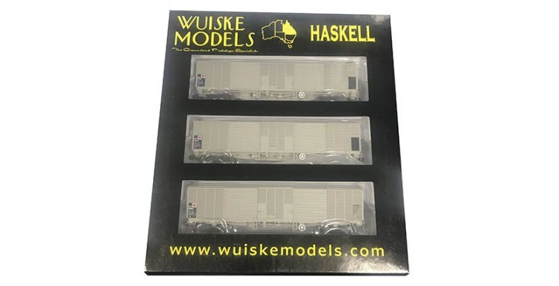 RTR002 Wuiske QLX Box Wagon HO-Set 2 - 3 Pack