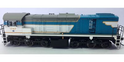 RTR044 – 1720 CLASS ORIGINAL AS BUILT LIVERY #1747 HOn3½ (12mm GAUGE)