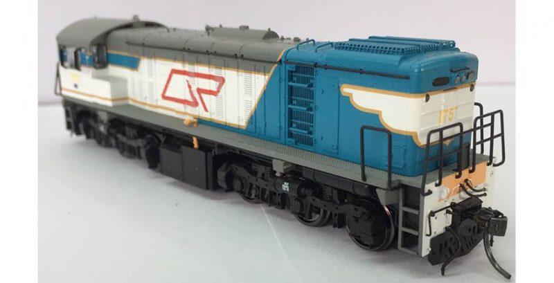 RTR049HO - 1720 CLASS ORIGINAL WITH LOGO LIVERY #1757 HO (16.5mm GAUGE)
