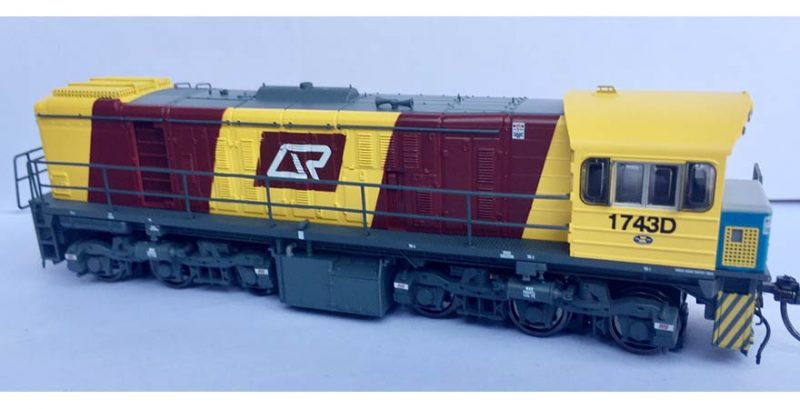 RTR057HO - 1720 CLASS DRIVER ONLY CORPORATE LIVERY #1743D HO (16.5mm GAUGE)