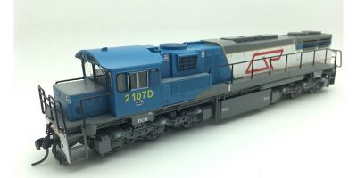 RTR063HO - 2100 CLASS DRIVER ONLY ORIGINAL LIVERY #2107D HO