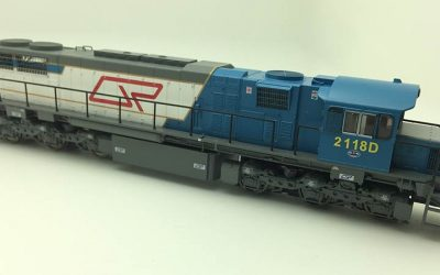 RTR064HO - 2100 CLASS DRIVER ONLY ORIGINAL LIVERY #2118D HO DCC with Sound