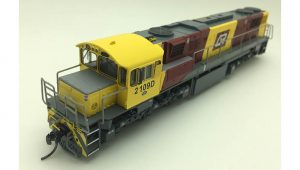 RTR065HO - 2100 CLASS DRIVER ONLY CORPORATE LIVERY #2109D HO DCC with Sound