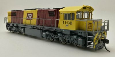 RTR066HO - 2100 CLASS DRIVER ONLY CORPORATE LIVERY #2113D HO DCC with Sound