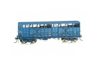 Eureka Models NSWGR BCW - PTC Blue - Bogie Cattle Wagon - 3 Pack HO scale