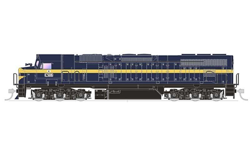 Auspower Locomotives C-Class Locomotive VR 506 HO Scale, DC