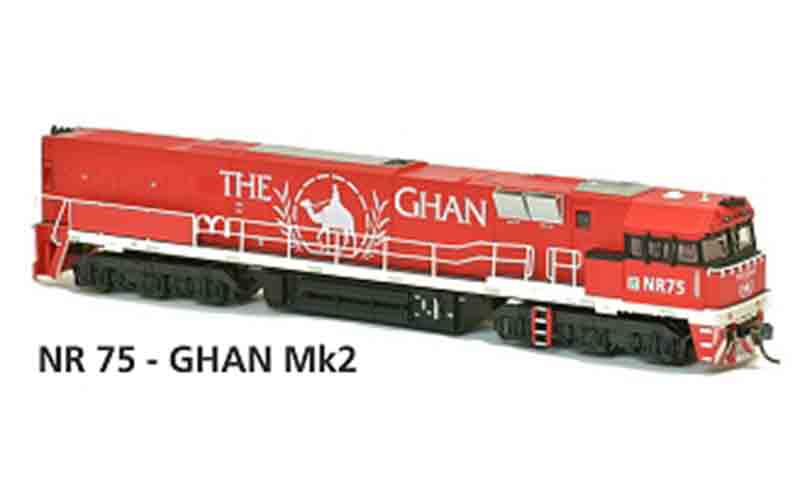Austrains NR 75 - GHAN Mk2 HO Scale DC Powered