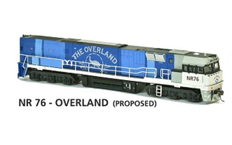 Austrains NR 76 - Overland (Proposed) HO Scale, DC Powered