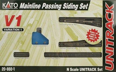 kato 20-860-1 unitrack v1-set mainline passing siding set