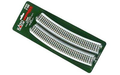 kato 2-240 HO curved R730 22.5deg