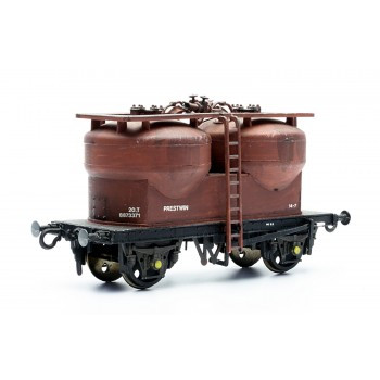 C43 Twin Silo Cement Wagon Prestwin