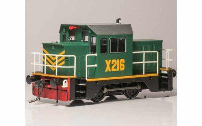 IDR model x216 green