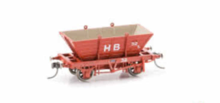 Phoenix Private owned coal hoppers POH7 SINGLE