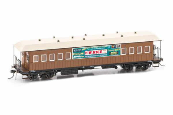 Austrain neo platform car HW rice brown FO026